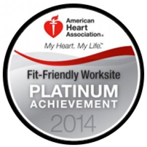 Platinum-Level Fit-Friendly Worksite