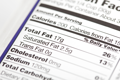 FDA Recommends Use of Calorie Labels During National Nutrition Month