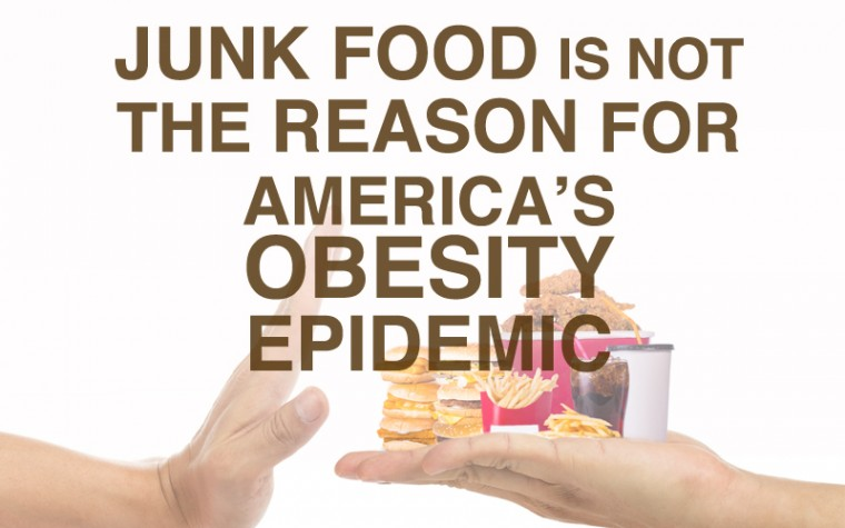 fast food and soda intake is not the main reason for obesity